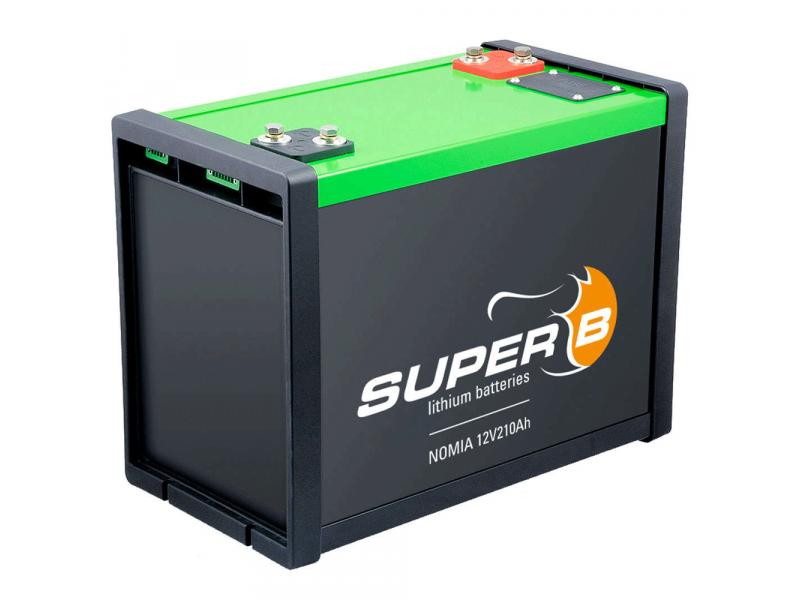 Super B NOMIA 210Ah LiFePO4 accu met BMS