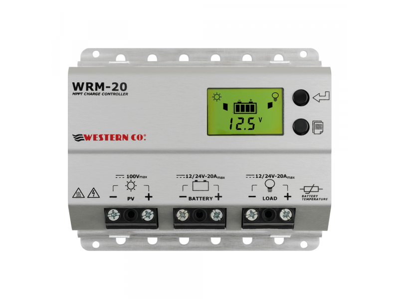 WRM20+ MPPT solar controller