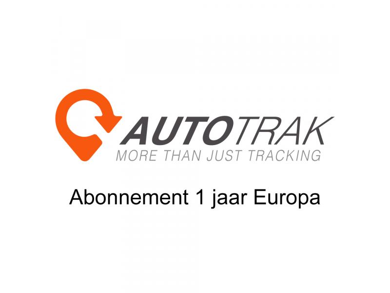 Autotrak 1 jaar abonnement EUROPA