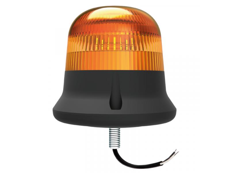 BASICVIEW LED flitslamp 1-punt montage AMBER
