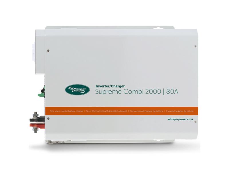 Whisper Power Supreme Combi 2000VA sinus omvormer/lader