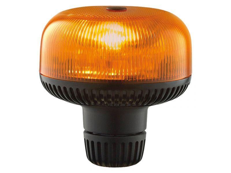 Crystal LED opsteek zwaailamp AMBER ECE R65