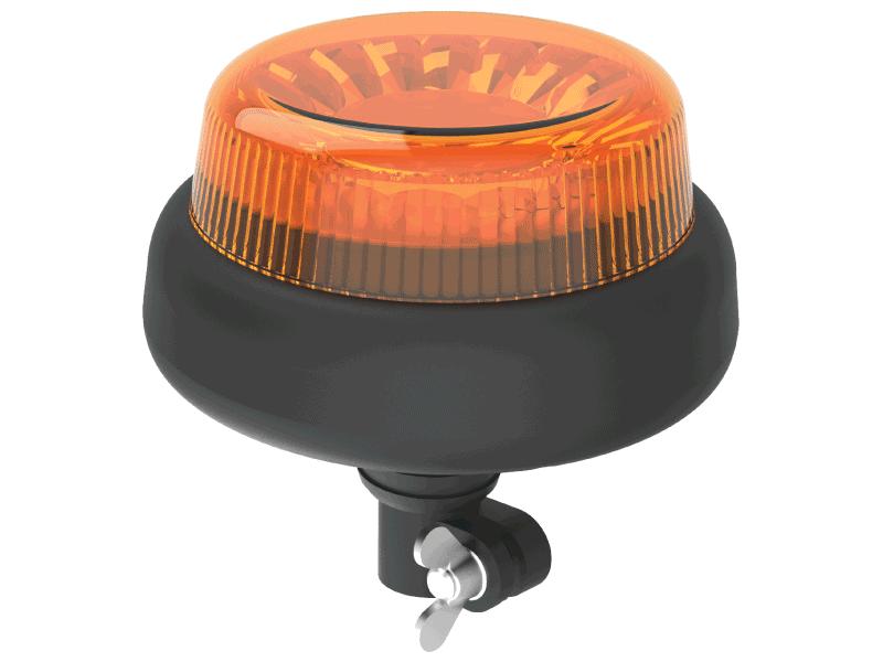 DIAMAX LED flitslamp DIN opsteek AMBER