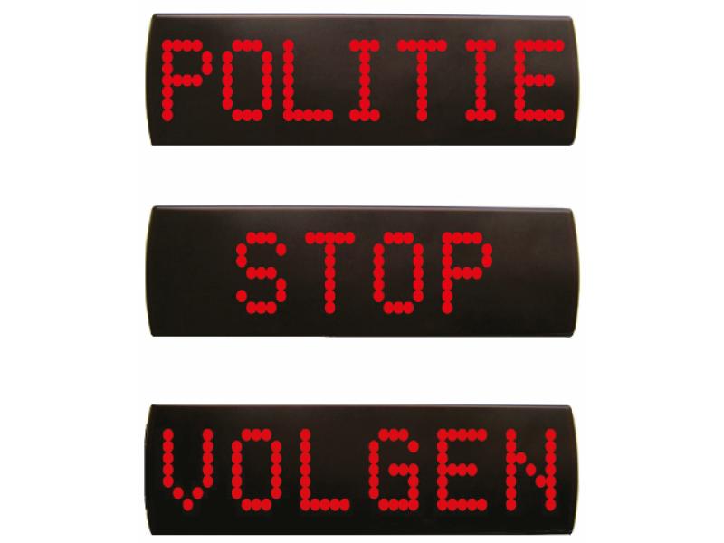 LED stopmatrix bord