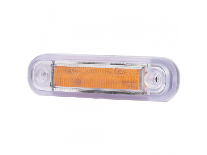 MR002 neon look LED markeerlicht ORANJE LED 12/36V