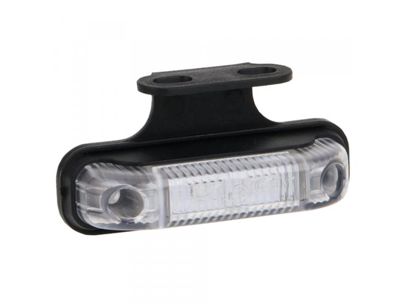MR004 LED markeerlicht helder met beugel ROOD LED 12/36V