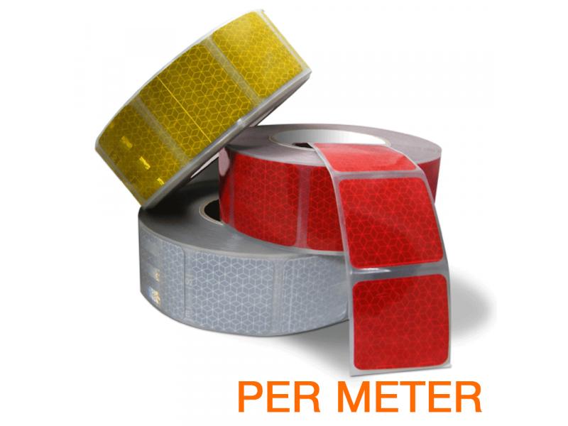 Reflexite Gesegmenteerde reflecterende tape ECE R104 per METER