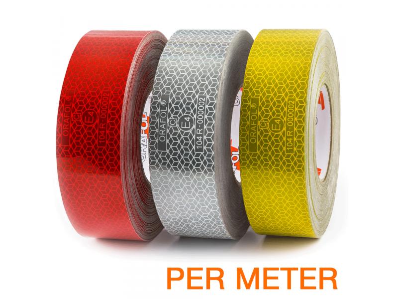 Reflexite VC 104+ Rigid Grade reflecterende tape ECE R104 per METER
