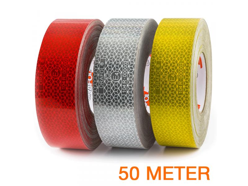 Reflexite VC 104+ Rigid Grade reflecterende tape 50 meter ECE R104