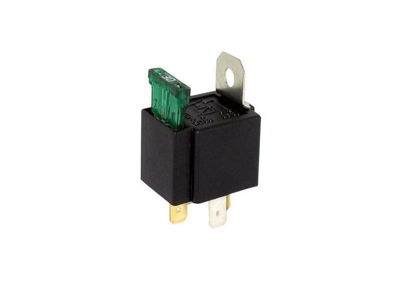 Mini relais met 30A zekering