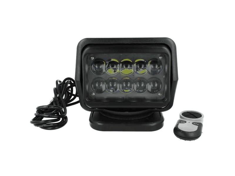 SL50 LED zoeklamp met afstandsbediening ZWART
