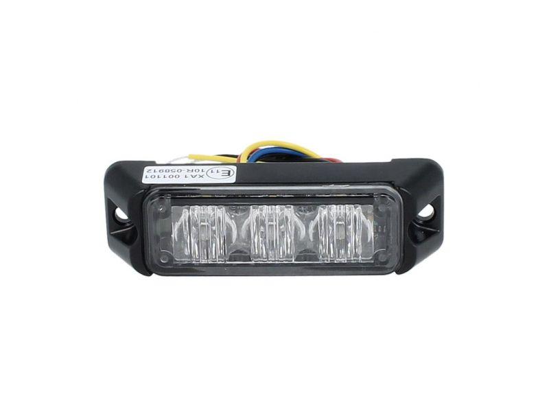 Allround signal Slimline 3 LED flitser AMBER