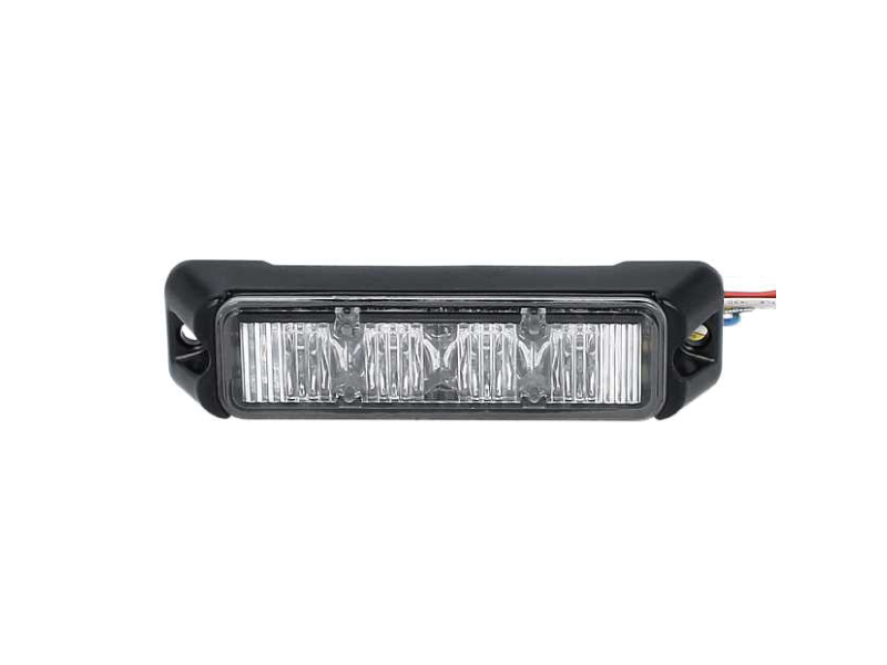 Allround signal Slimline 4 LED flitser