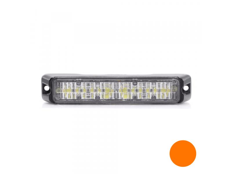 Allround signal Slimline 6 LED flitser AMBER