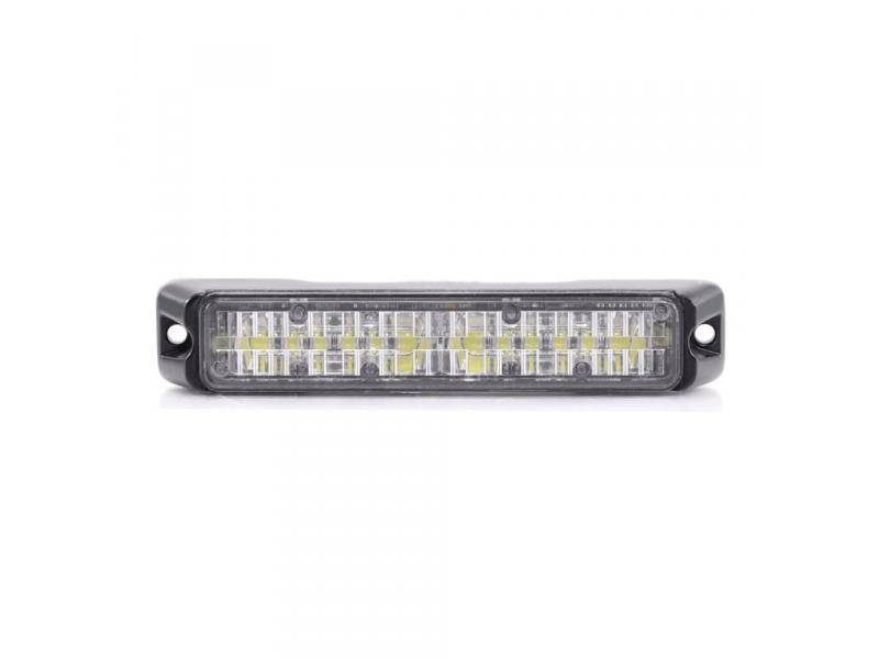 Allround signal Slimline 6 LED flitser