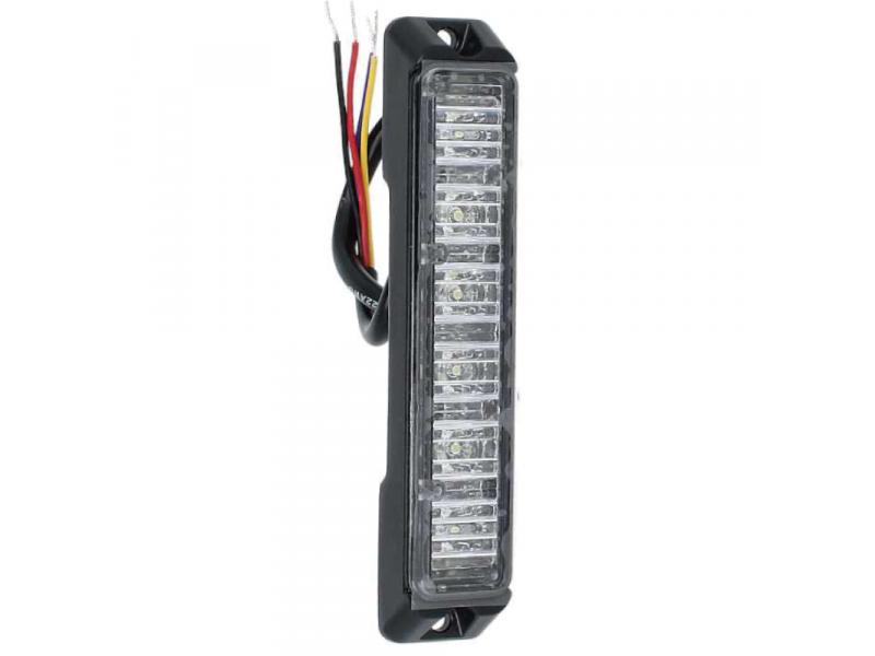 Allround signal Slimline 6 LED flitser VERTICAAL AMBER