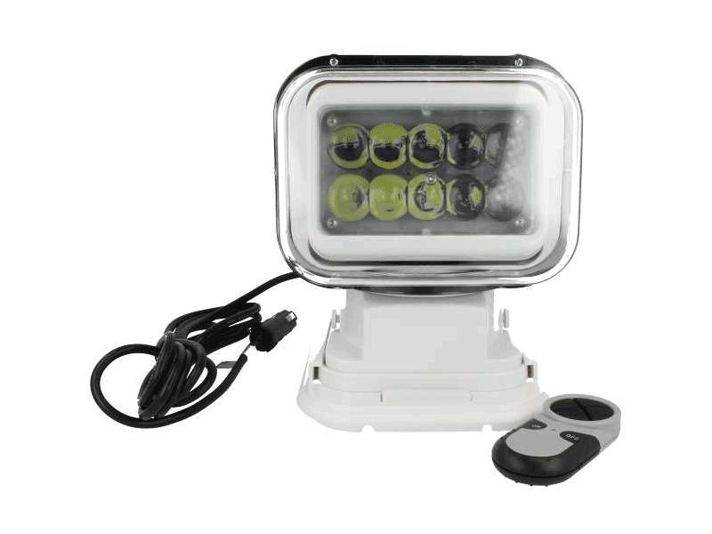 SR50 LED zoeklamp met afstandsbediening WIT