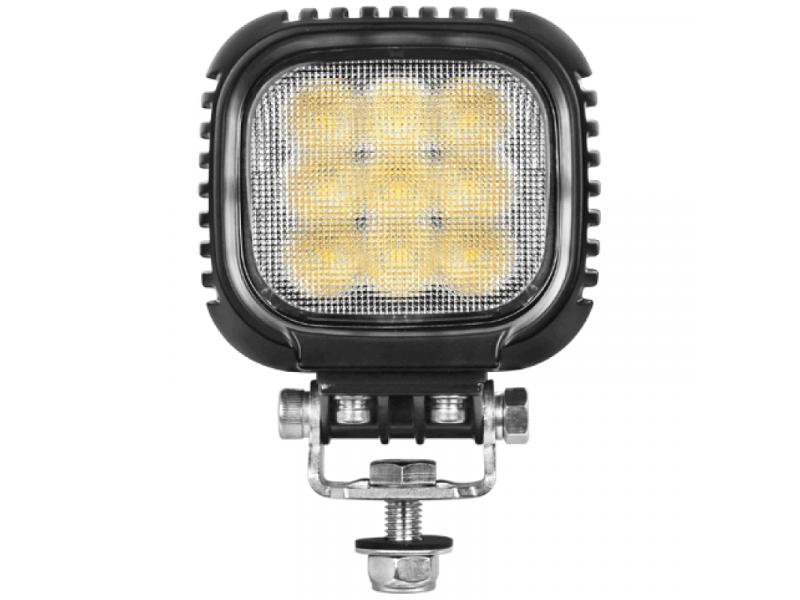 LED werklamp vierkant 63 watt CREE breedstraler