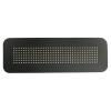 LED stopmatrix zonneklep ZWART