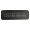 LED stopmatrix zonneklep bord XL ZWART