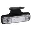 MR004 LED markeerlicht helder met beugel WIT LED 12/36V