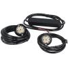 Allround signal Optimus LED inbouw/opbouw flitser set BLAUW
