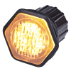 Allround signal Proxima LED inbouw flitser AMBER