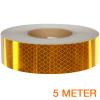 Reflecterende tape ECE R104 GEEL 5 meter