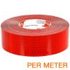 Reflexite VC 104+ Rigid Grade reflecterende tape ECE R104 ROOD per METER