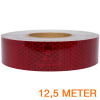 Reflecterende tape ECE R104 ROOD 12,5 meter
