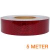 Reflecterende tape ECE R104 ROOD 5 meter