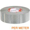 Reflexite VC 104+ Rigid Grade reflecterende tape ECE R104 WIT per METER