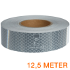 Reflecterende tape ECE R104 WIT 12,5 meter