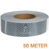 Reflecterende tape ECE R104 WIT 50 meter