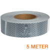 Reflecterende tape ECE R104 WIT 5 meter