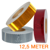 Reflecterende tape 12,5 meter ECE R104