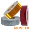 Reflecterende tape 50 meter ECE R104