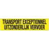 TRANSPORT EXCEPTIONNEL/UITZONDERLIJK VERVOER sticker