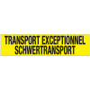 TRANSPORT EXCEPTIONNEL/SCHWERTRANSPORT sticker