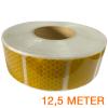 Reflecterende tape gesegmenteerd ECE R104 GEEL 12,5 meter