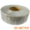 Reflecterende tape gesegmenteerd ECE R104 WIT 50 meter