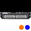 Allround signal Slimline 6 LED flitser AMBER/BLAUW