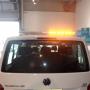 Oranje flitsbalk Volkswagen