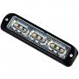 Platte LED flitser amber