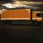 Markeringstape vrachtwagen