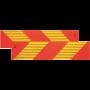 Markeringssticker vrachtwagen  ECE 70.01