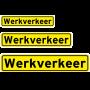 werkverkeer sticker reflecterend