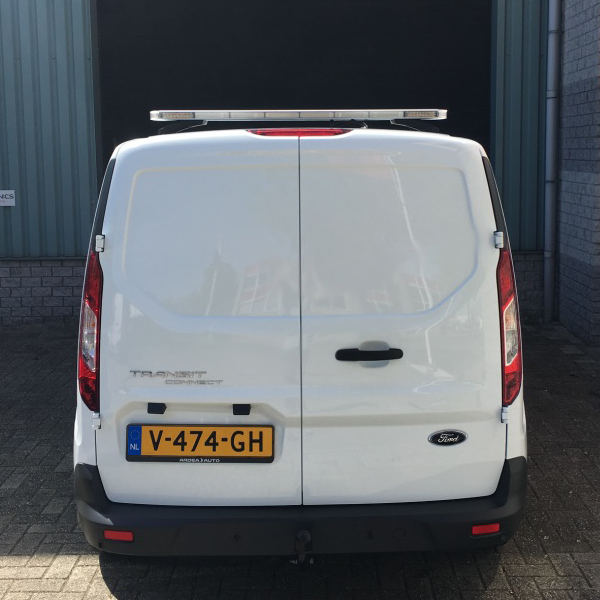Apollo flitsbalk op Ford Transit Connect