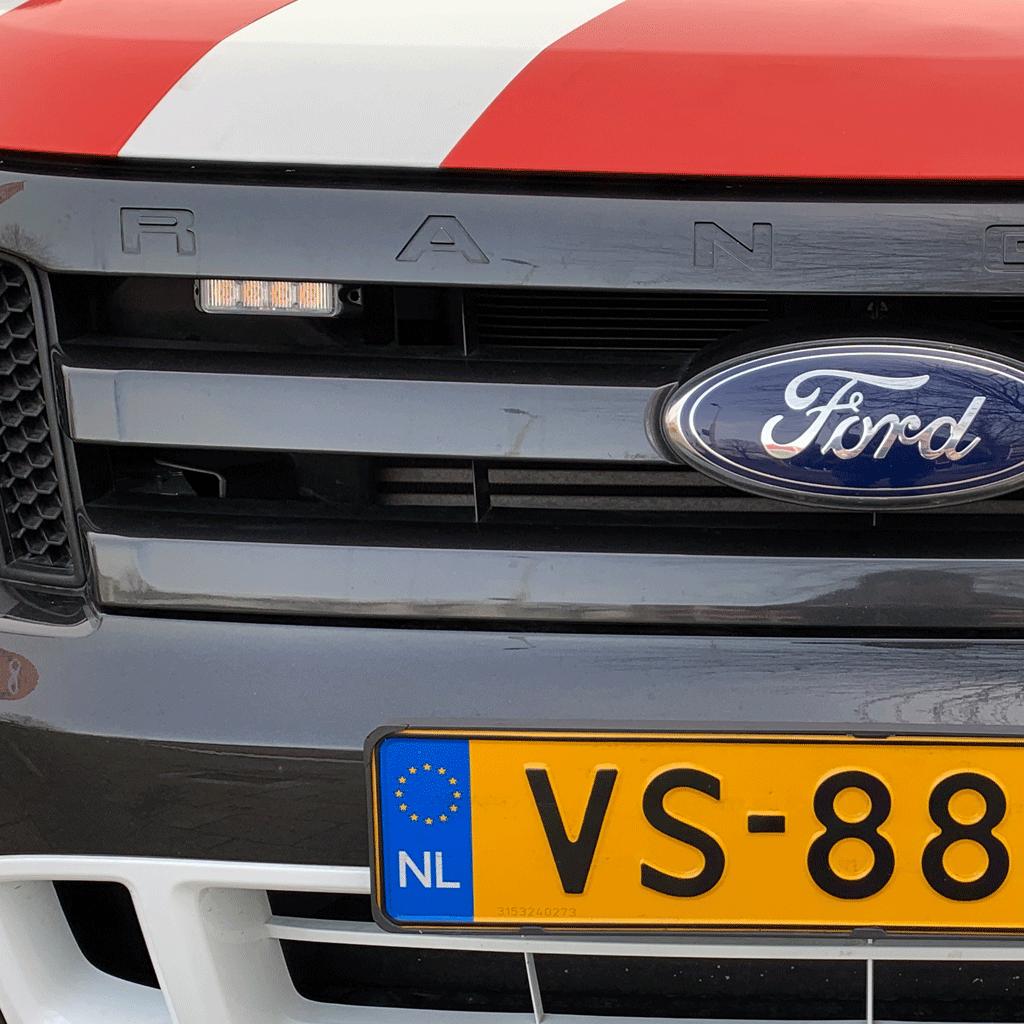 SLIMLINE flitser op Ford Ranger