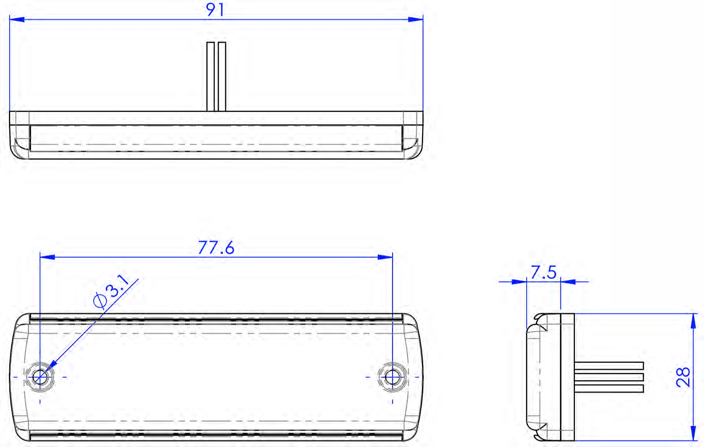 G6 ultra platte LED flitser